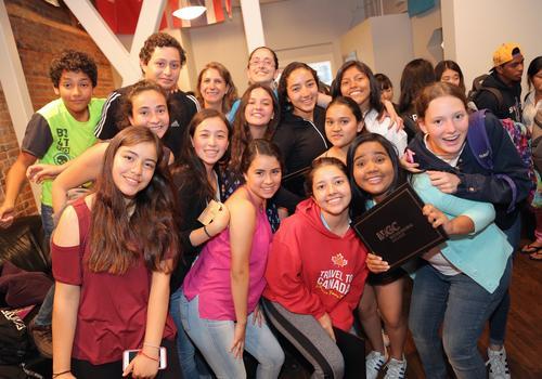 Les élèves de VGC