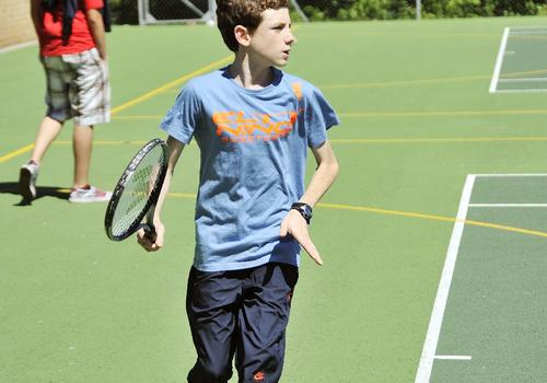 Piste de tennis Bournemouth Collegiate School