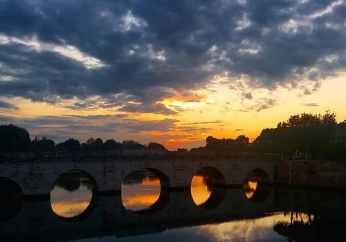 Pont de Tibère à Rimini