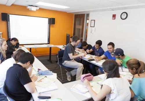 Salle de classe de EC Boston