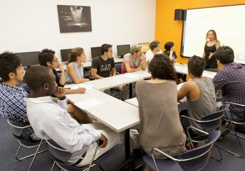 Salle de classe de EC New York