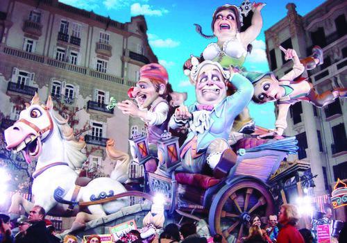 Festival Fallas Valence TARONJA