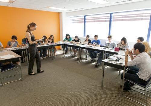 Salles de classe de EC Vancouver