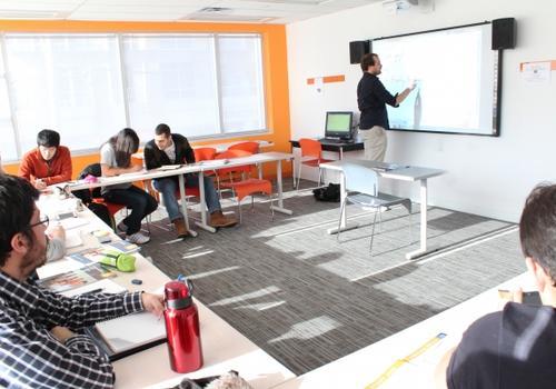 Salle de classe EC Toronto